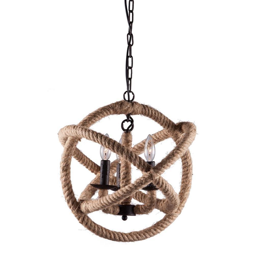 Caledonite Twine Ceiling Lamp