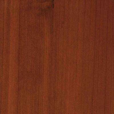 4 in. x 3 in. Wood Garage Door Sample in Redwood with Teak 085 Stain