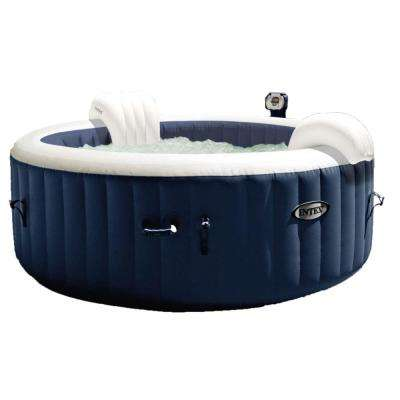 Intex 28405E PureSpa 4-Person Home Inflatable Portable Heated Bubble Hot Tub
