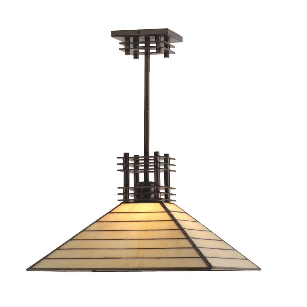 Illumine 1 Light Watersedge Pendant Mahogany Bronze Finish