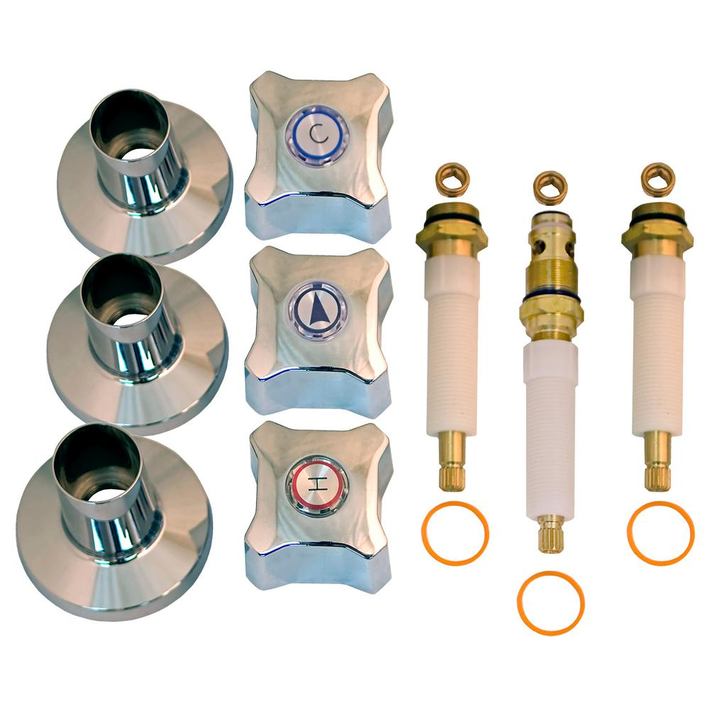 Lincoln Products Tub And Shower Rebuild Kit For Kohler Trend 3