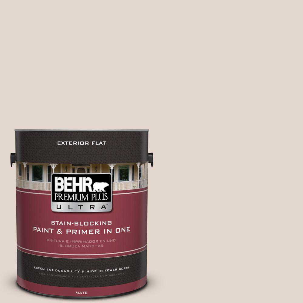 BEHR Premium Plus Ultra 1 gal. #UL130-14 Sheer Scarf Flat Exterior Paint