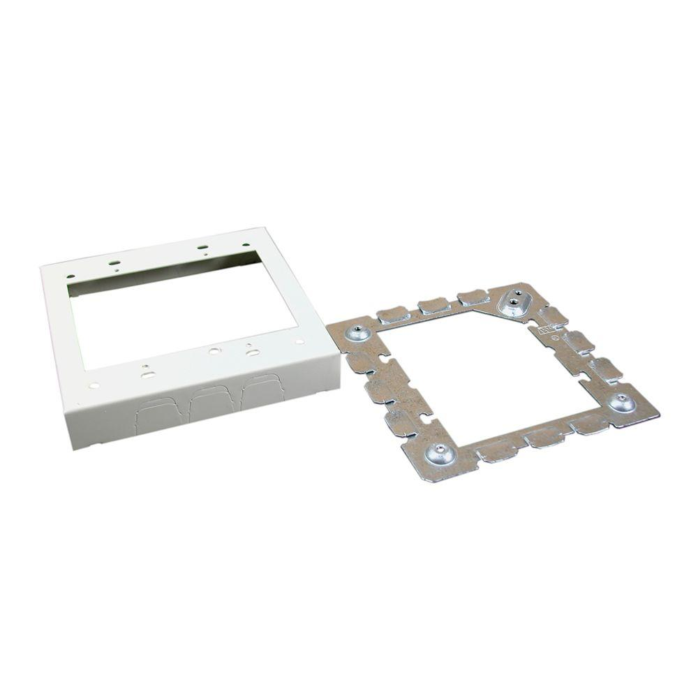 Legrand Wiremold 500 and 700 Series Metal Surface Raceway Two Gang 4 ...