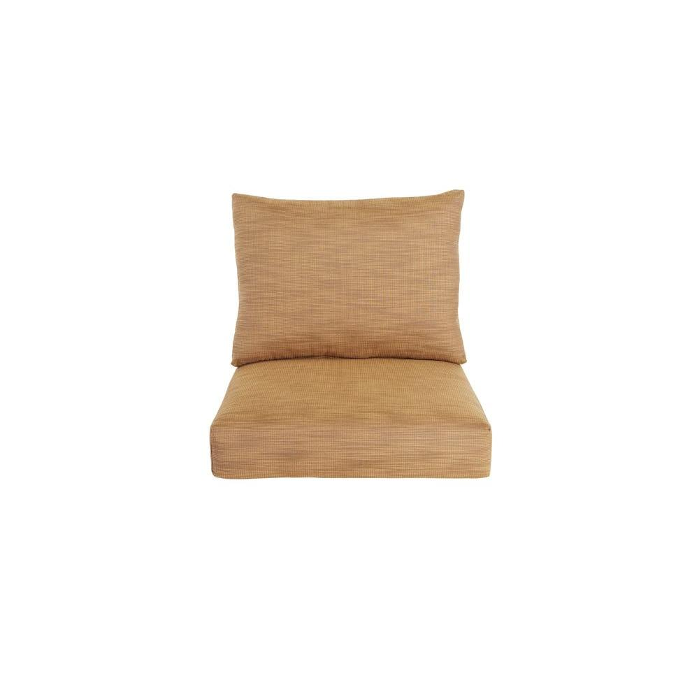 Marquis Replacement Outdoor Lounge Chair Cushion in Toffee