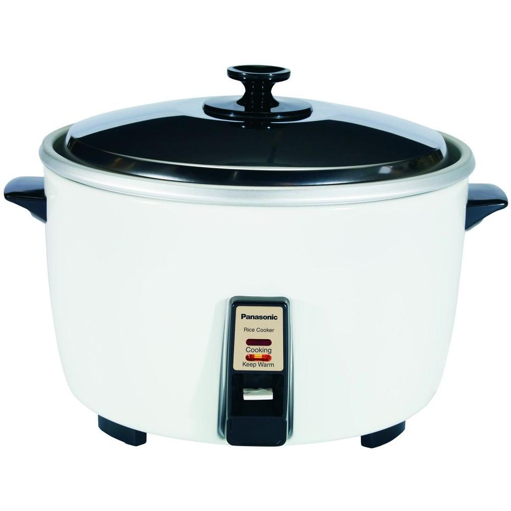Panasonic 23-Cup Rice Cooker with Steamer-DISCONTINUED