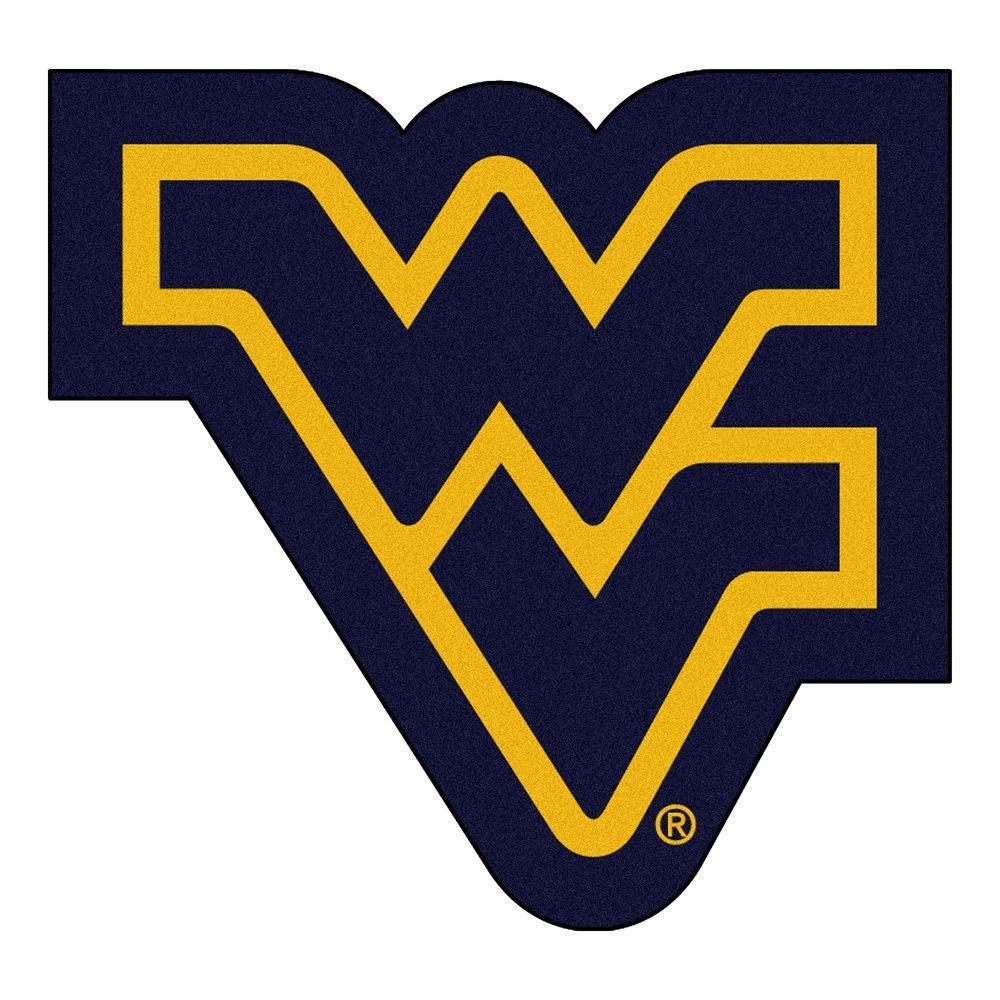 Fanmats Ncaa West Virginia University Navy Blue 3 Ft X 4