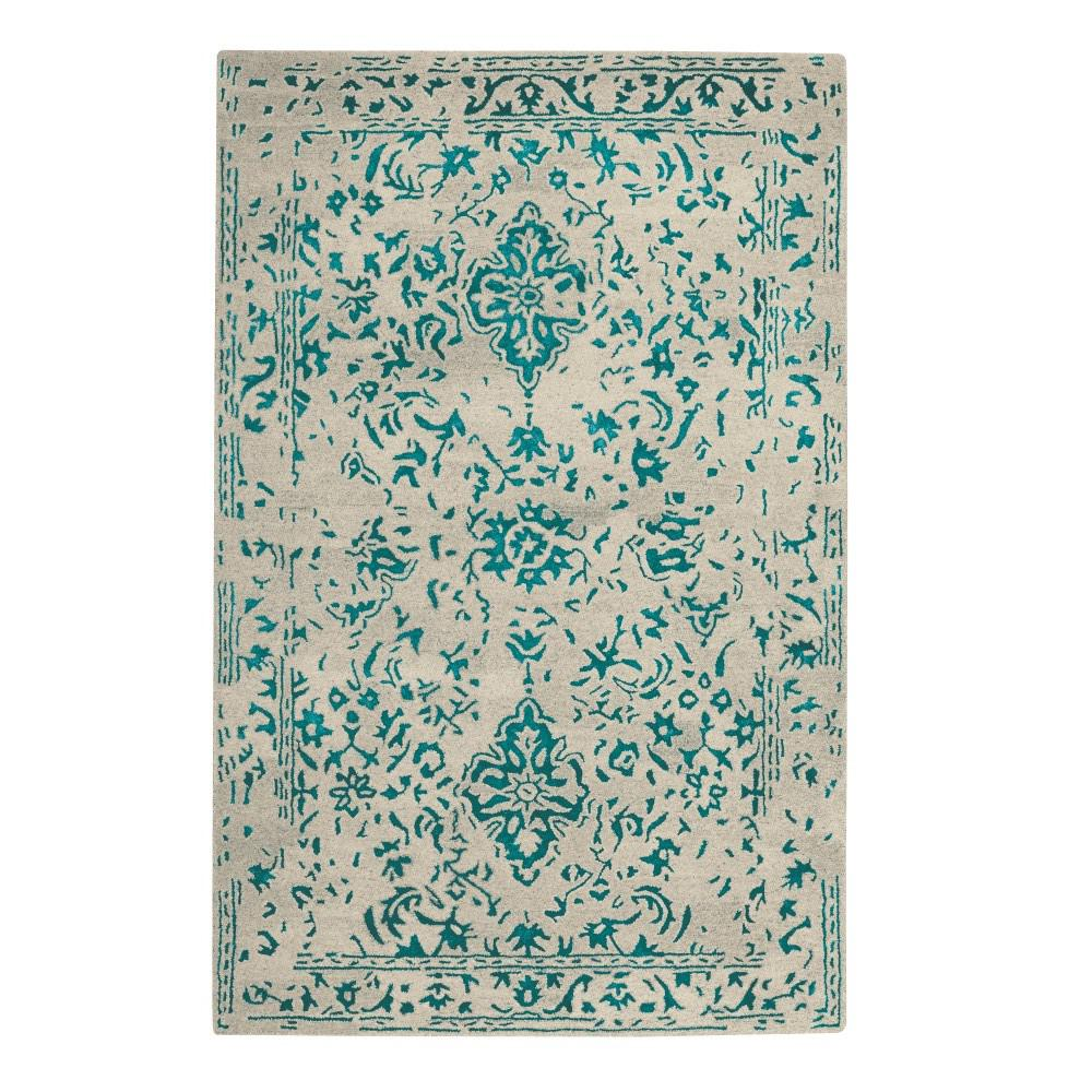 Home Decorators Collection Bordeaux Navy 9 Ft. 9 In. X 13