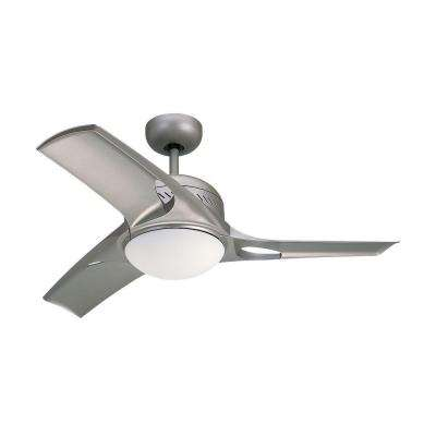Mach Two 38 in. Titanium Ceiling Fan