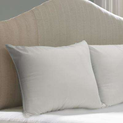 Standard and Queen Cotton Allergy Protection Hypoallergenic Breathable Pillow