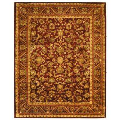 Antiquity Wine/Gold 10 ft. x 14 ft. Area Rug