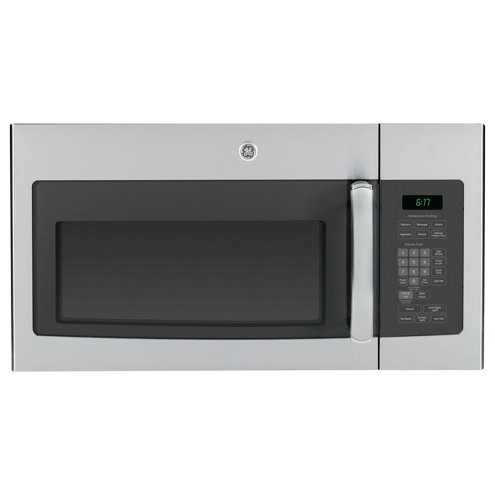 GE 1.7 cu. ft. Over the Range Microwave in Stainless Steel