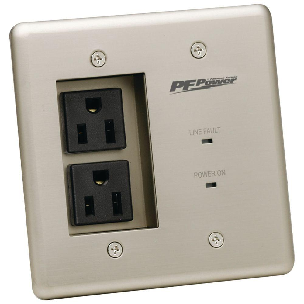 Panamax 2-Outlet In-Wall Power Pro