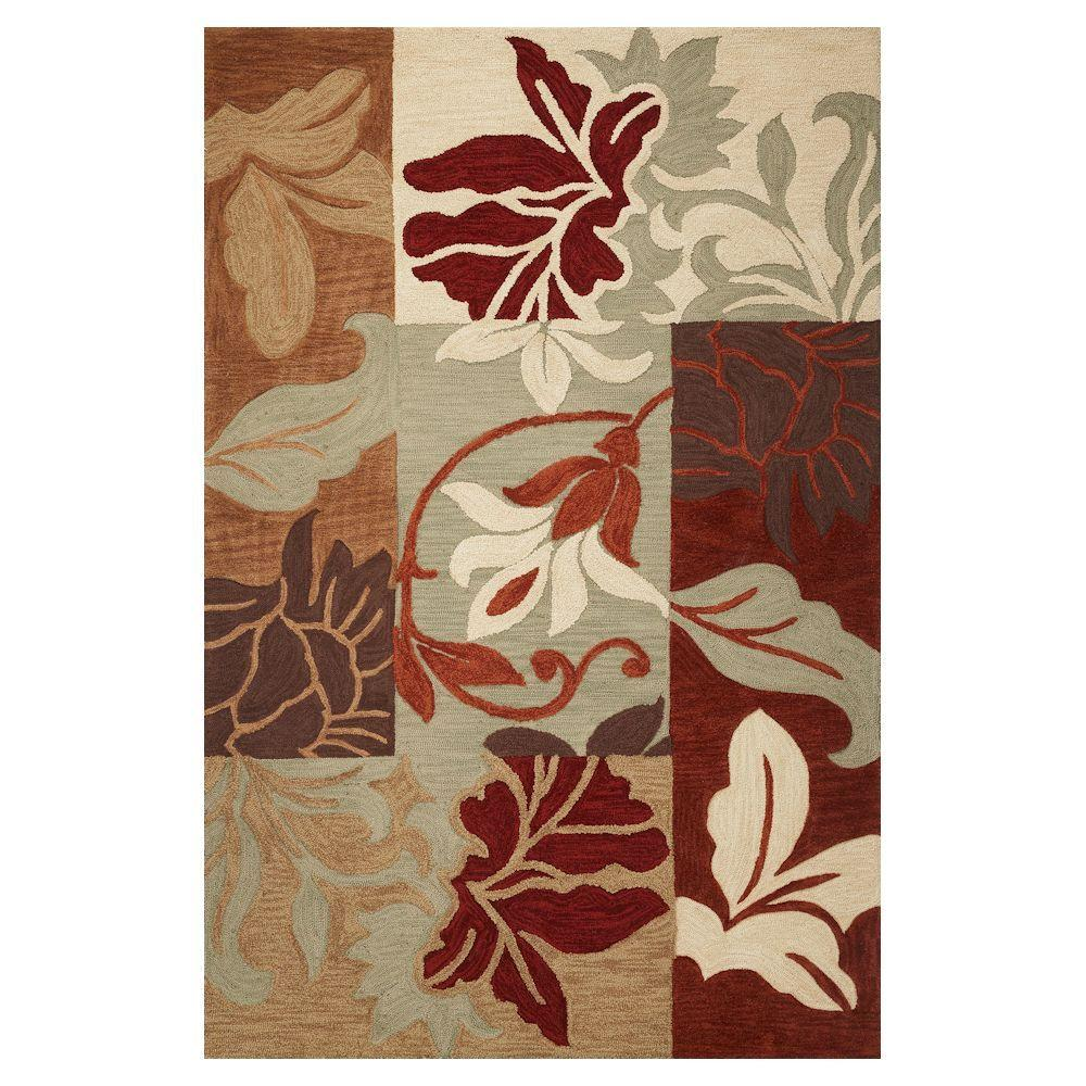 Kas Rugs Autumn Patch Sage 8 ft. x 10 ft. Area Rug, Green With the Kas Rugs 8 ft. x 10 ft. Area Rug, you can bring a unique style to any environment. This rectangular rug has stain-resistant fabrics and fade-resistant materials. It features an oriental design, adding an ornate touch to your home decor with intricate patterning. It is multi-colored, bringing an eye-catching look to your space. With a 100% polyacrylic construction, this tufted rug will make an extremely lasting option for any room. Color: Sage.