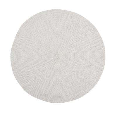 Cotton Solid Ivory Placemats