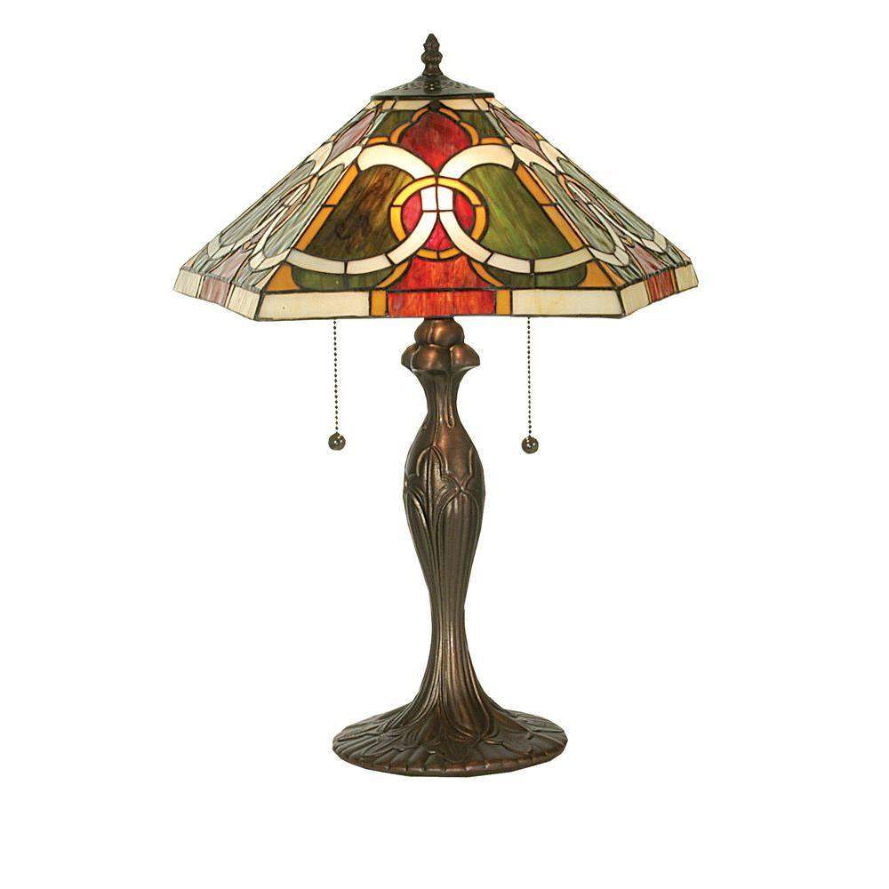 Illumine 2 Light Moroccan Table Lamp