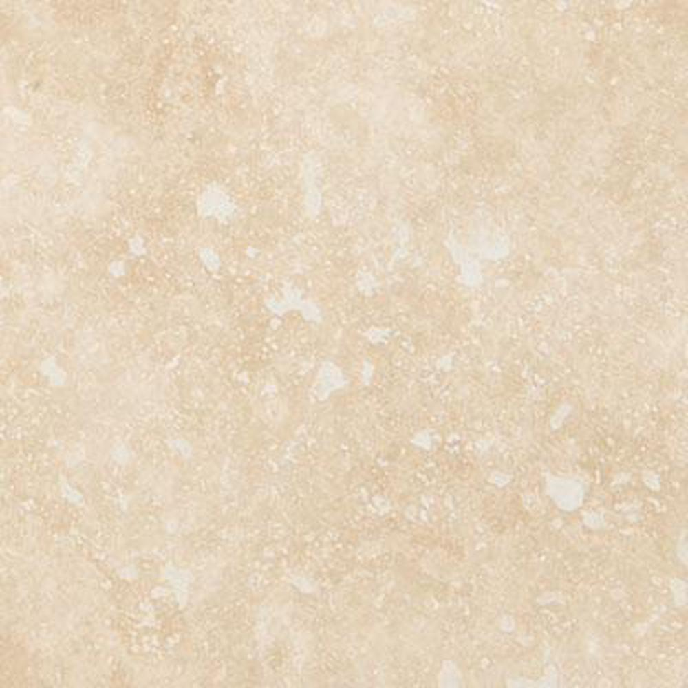 MSI Ivory 4 in. x 4 in. Honed Travertine Floor and Wall Tile (1 sq. ft. / case)