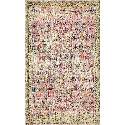 Alta Pink 5 ft. x 8 ft. Area Rug