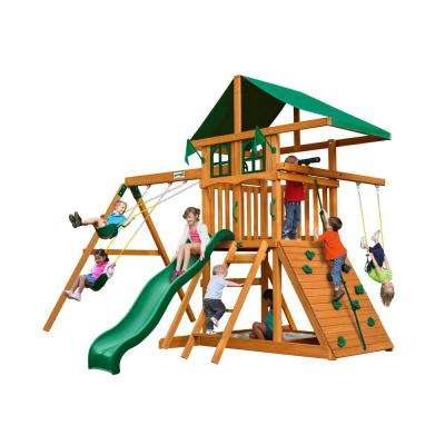 Outing Deluxe Cedar Swing Set