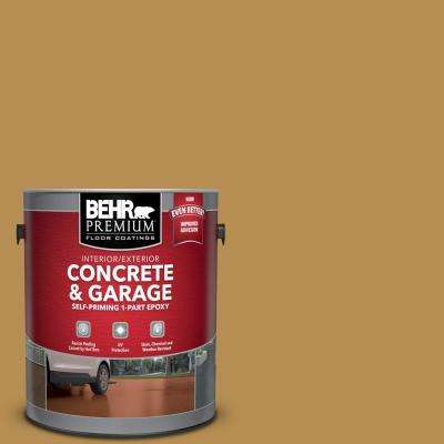 1 gal. #PFC-30 Clay Terrace Self-Priming 1-Part Epoxy Satin Interior/Exterior Concrete and Garage Floor Paint