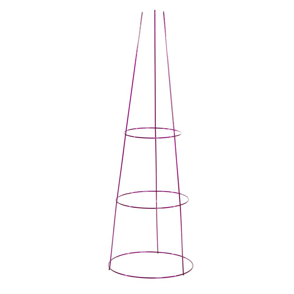 Gilbert and Bennett 42 in. Galvanized Tomato Cage-901594A - The Home ...