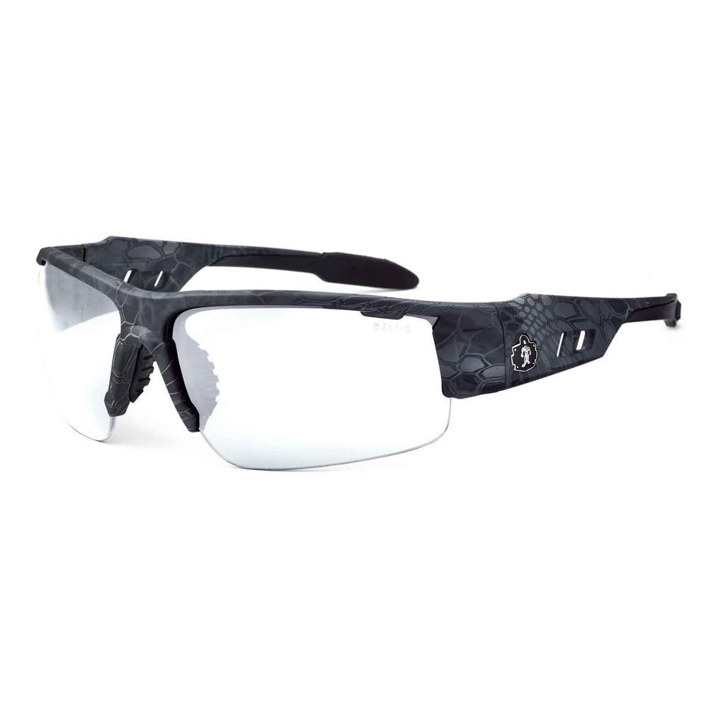 Skullerz Dagr Kryptek Typhon Anti-Fog Safety Glasses, Clear Lens - ANSI Certified