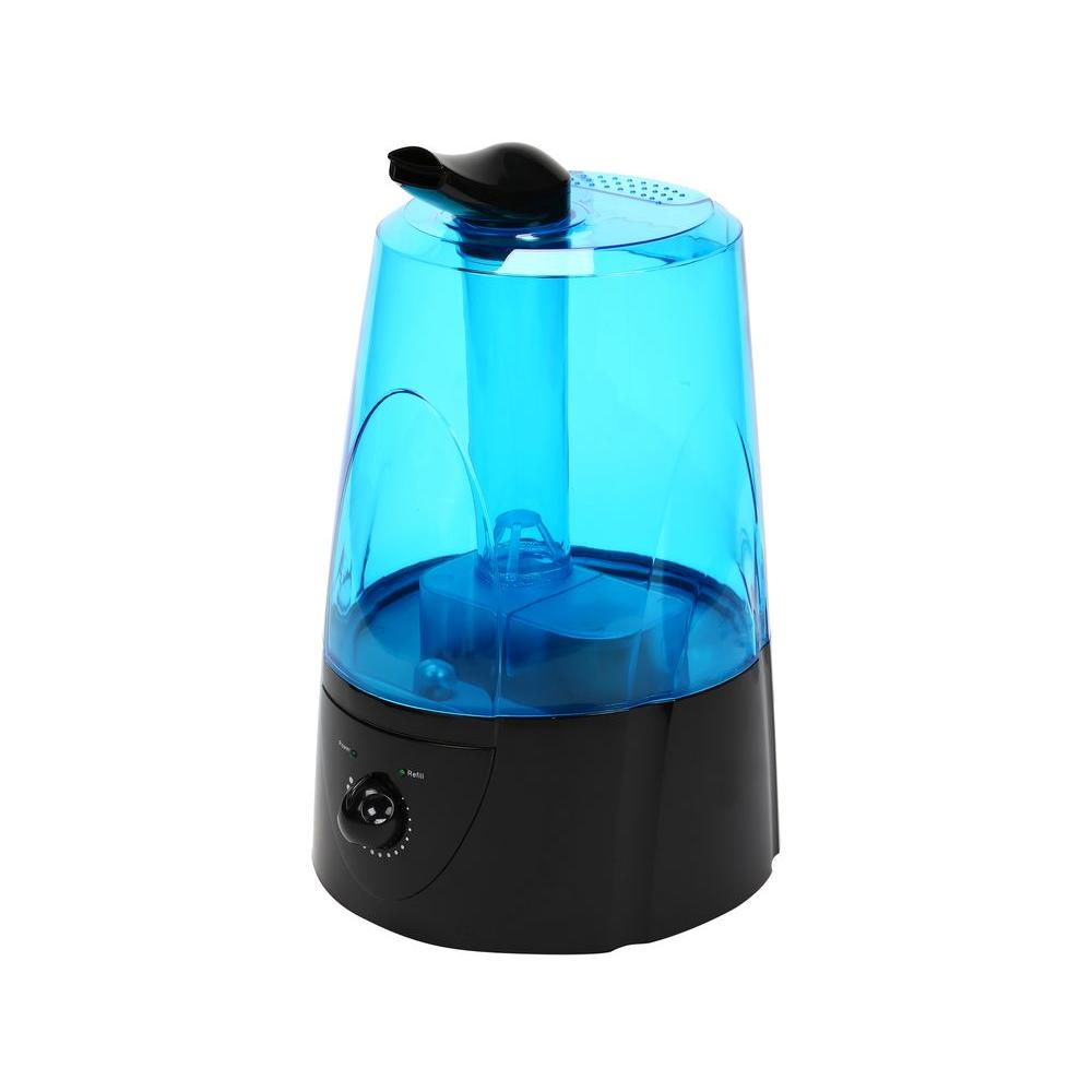 1.3 Gal. Dual Cool Mist Auto Shut-Off Ultrasonic Humidifier with LED