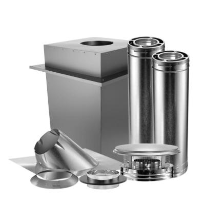 DuraPlus 6 in. Triple-Wall Manufactured Home Chimney Stove Vent Kit