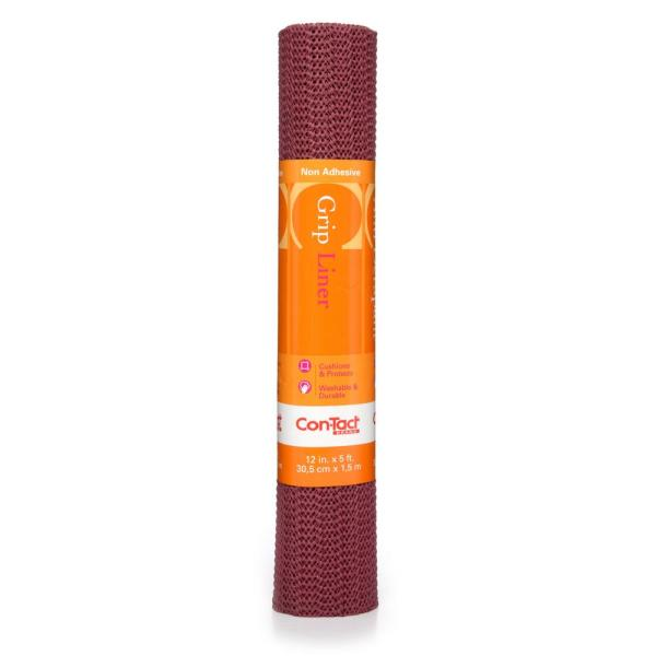 Con-Tact Grip Liner 12 in. x 5 ft. Berry Non-Adhesive Grip