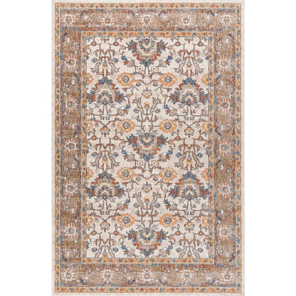 7x10 Rug: Tayse Rugs Fairview Ivory 7 Ft. X 10 Ft. Area Rug-FVW3202