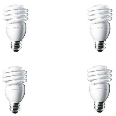 100-Watt Equivalent T2 Twister CFL Light Bulb Daylight Deluxe (4-Pack)