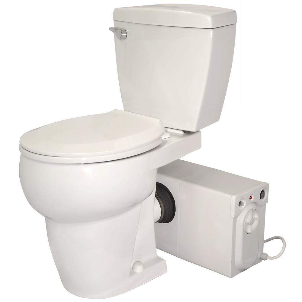 THETFORD Bathroom Anywhere 2-Piece 1.28 GPF Single Flush ...