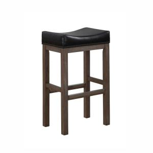 Internet #302716468. American Woodcrafters Walker Creek 26 in. Grey Driftwood Saddle Seat Counter Stool  sc 1 st  The Home Depot & American Woodcrafters Walker Creek 26 in. Grey Driftwood Saddle ... islam-shia.org