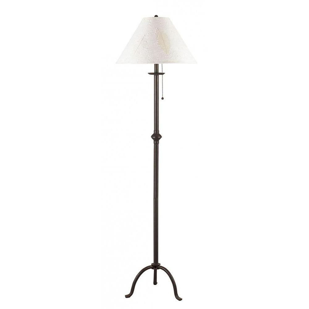 Filament Design Cooper 31.75 in. Dark Bronze Incandescent Floor Lamp