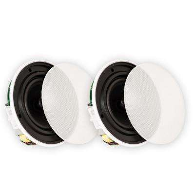 In-Ceiling 70-Volt 6.5 in. Speakers Quick Install Pair
