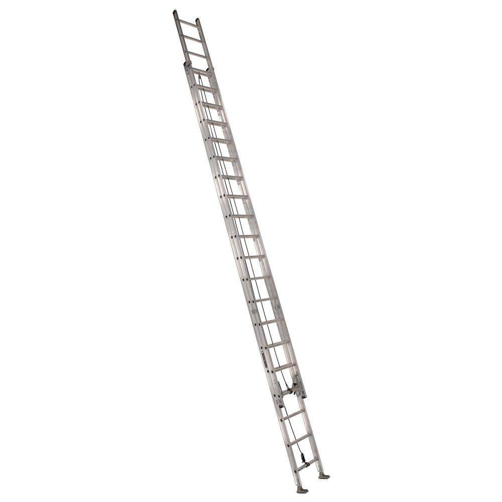 40 ft. Aluminum Extension Ladder with 300 lbs. Load Capacity Type
