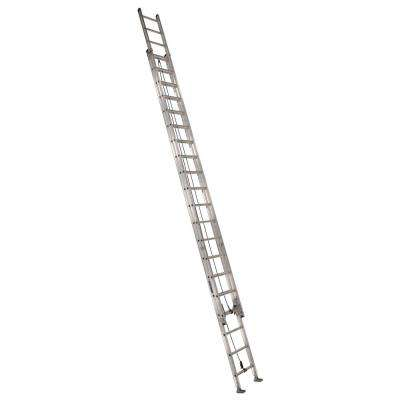 40 ft. Aluminum Extension Ladder with 300 lbs. Load Capacity Type IA Duty Rating