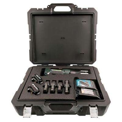 1/2 in. to 1-1/4 in. Inline Press Tool Kit with Jaws