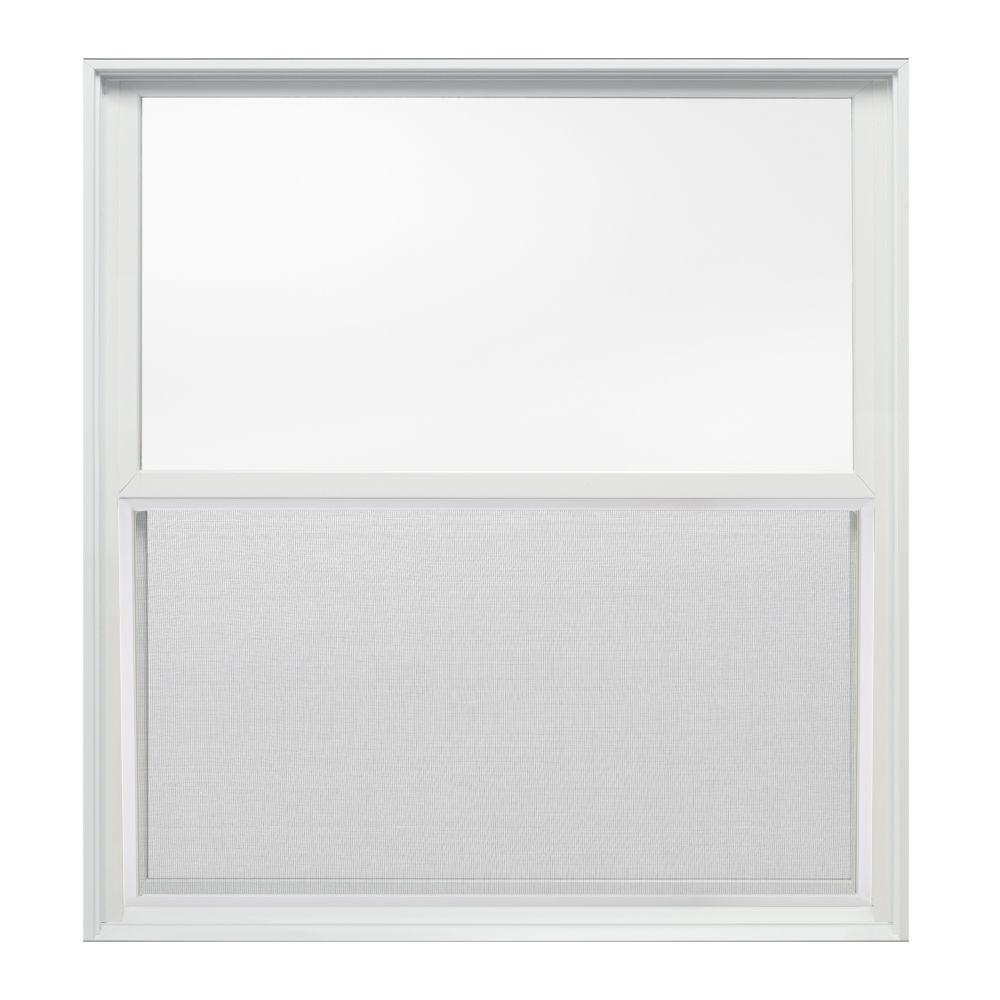 37.375 in. x 40 in. W-2500 Series Double Hung Wood Window
