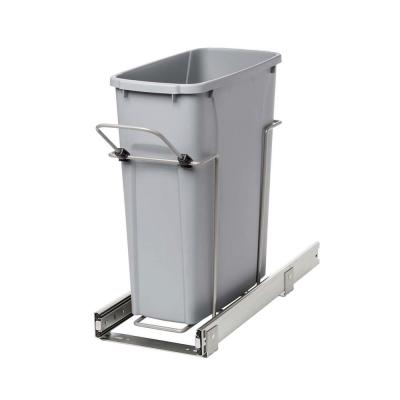 Pull Out Trash Cans Pull Out Cabinet Organizers The Home