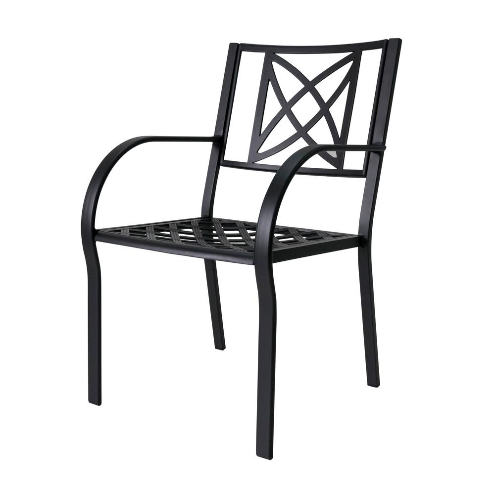 Magnificent Vifah Paracelsus Aluminum Outdoor Dining Chair 2 Pack Machost Co Dining Chair Design Ideas Machostcouk