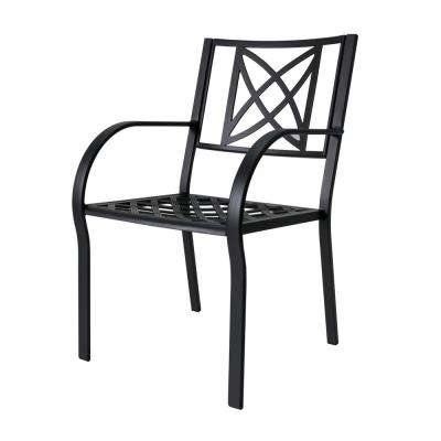 Paracelsus Aluminum Outdoor Dining Chair (2-Pack)