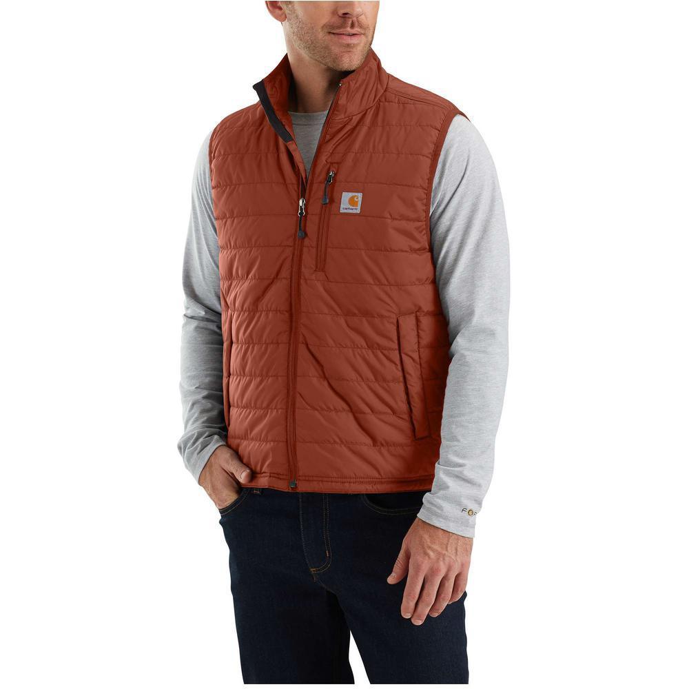 Deals on Carhartt Mens Medium Sequoia Cordura Nylon Gilliam Vest