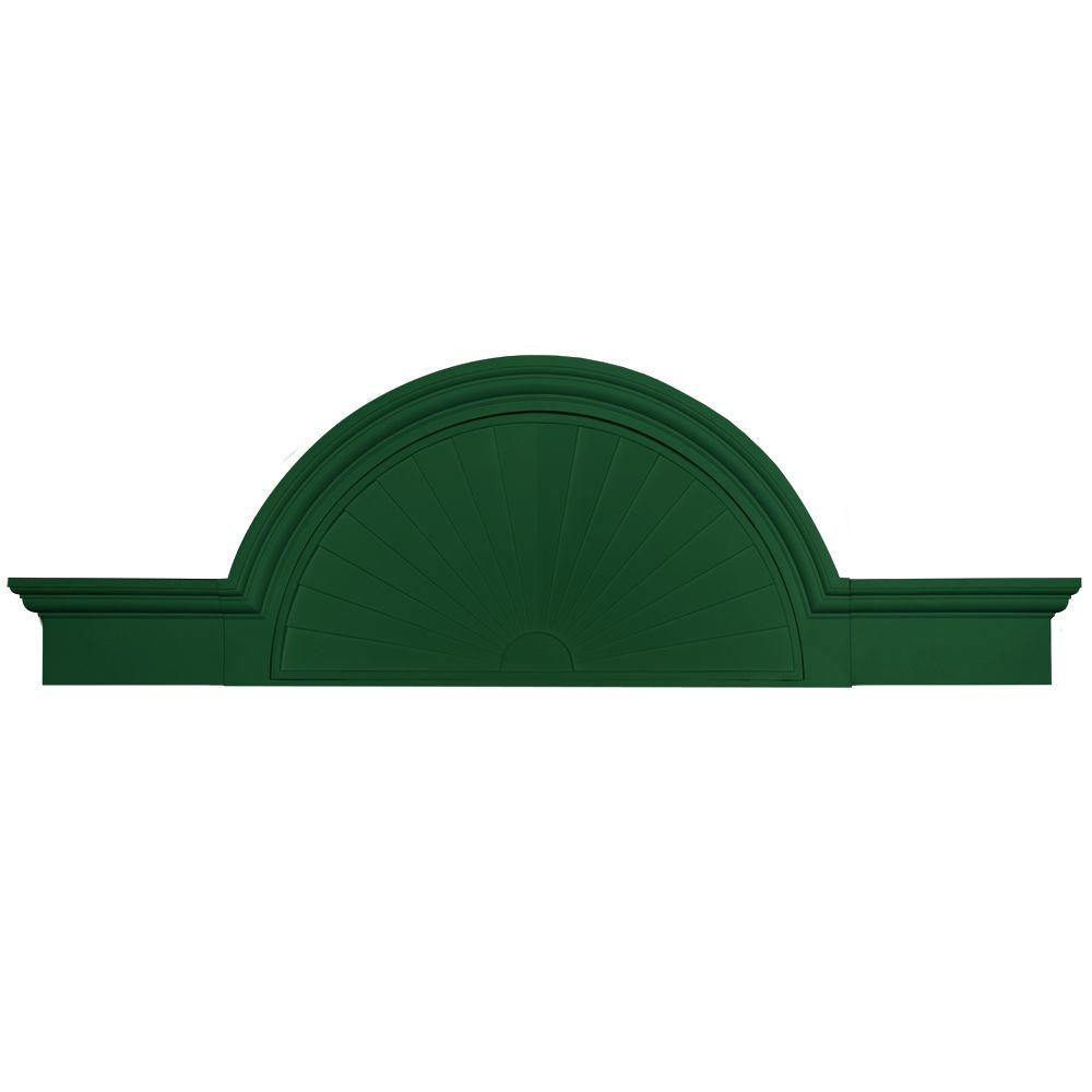 Builders Edge 36 in. - 69 in. Flat Panel Window and Door Accent in 028 Forest Green-DISCONTINUED