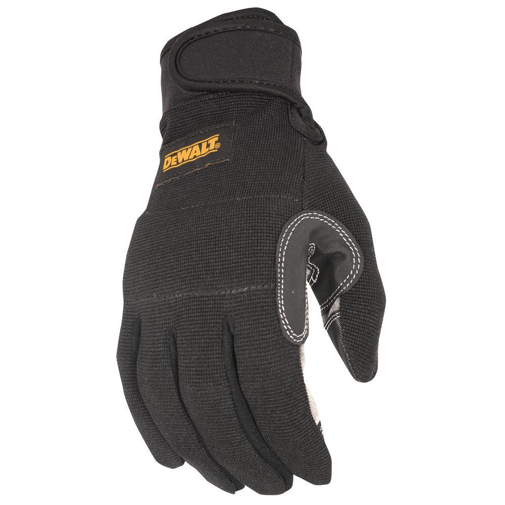 Medium Black General Utility Work Glove