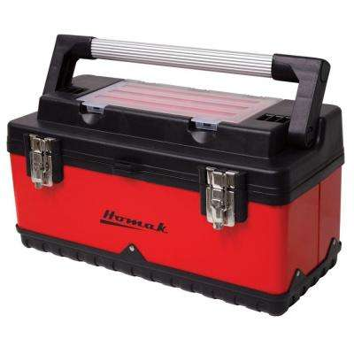 20 in. Hand-Carry Tool Box, Red