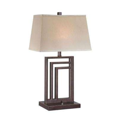 27.3 in. Dark Bronze Table Lamp