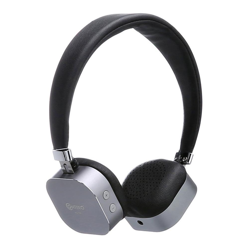 KB-100 Bluetooth Wireless Kids Over-The-Ear Headphones, Volume Safe Limiter (MAX 85db) Adjustable Headset in Black