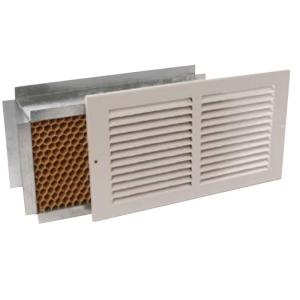 Tamarack 14 in  x 8 in  Return Air Pathway Register, White-Wall Mount 14X8  Return Air Pathway - The Home Depot