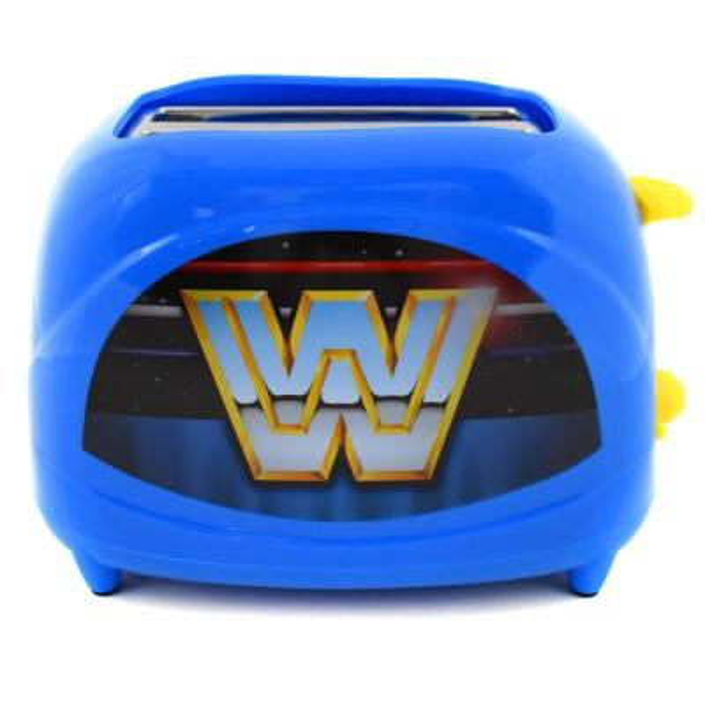 Blue WWE Retro Two-Slice Toaster -- 600 Watts