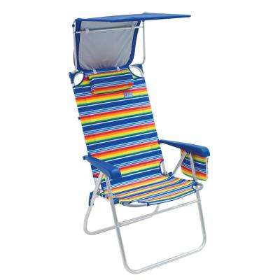Pleasing Hi Boy Aluminum Beach Chair With Canopy Machost Co Dining Chair Design Ideas Machostcouk